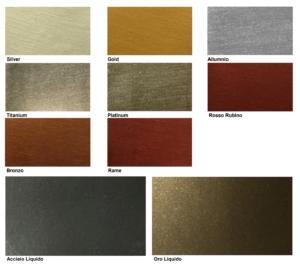 Metallika Farbkarte – Cemento 3D Veredelung