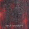 Strukturbeispiel von Strukturwalze mit Silikon Muster