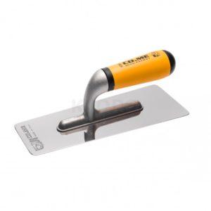 Venezianische Glättekelle poliert Edelstahl 0,6 mm 381 LI 200 x 80